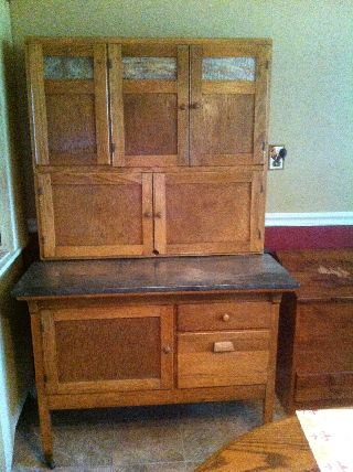 Beautifully Restored Hoosier - Type Cabinet photo