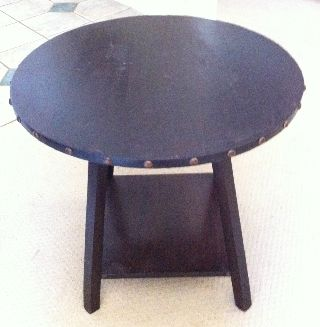 Antique Arts & Crafts/mission Table photo