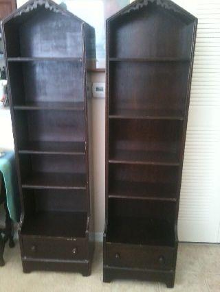 Antique Bookcases 1940 ' S photo