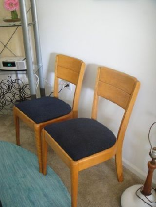Vintage Herywood - Wakefield Chairs 1950 ' S Eames Era photo