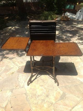 Antique Typewriter Desk/table photo