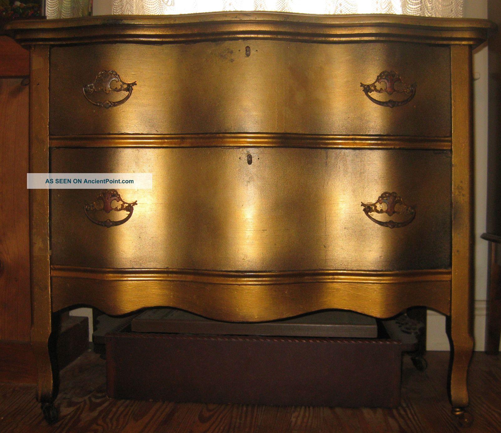 Antique Serpentine Dresser / Buffet / Sideboard 1900-1950 photo