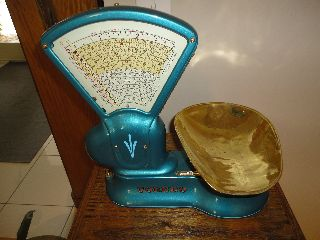 Antique Scale Candy Toledo Scale 1917 photo