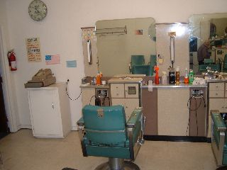1962 Koch Barber Chairs With Complete Stations X2 Retired Barber 1 Or/all Choic photo