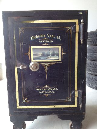 Diebold Safe - Antique - 1871 photo