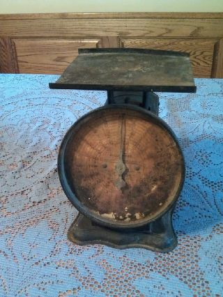 Antique Parcel Post Scale Works photo