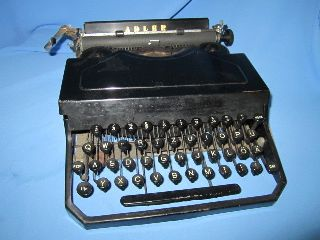 Vintage Adler Favorit 2 Thrust - Action Typebar Typewriter In 1938 photo