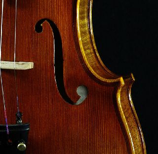 Grandiose German Violin Labeled Markus Ebstein C.  2003 4/4 Old Antique Violino photo