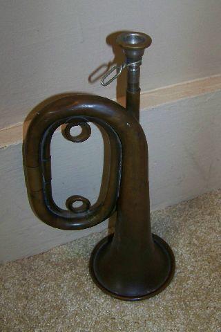 Vintage Brass Bugle - Sebert ? photo