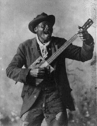 Cigar Box Guitar Blues Folk Banjo Delta Silvertone Americana Slide Kay Blues photo