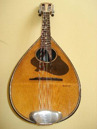 German Mandolin From `` Goldklang ``ca.  1950 photo
