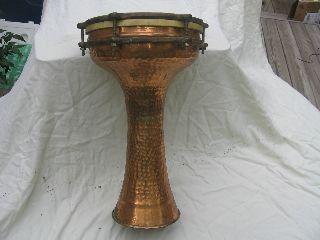 Hammered Copper Drum photo