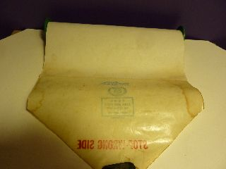 Vintage Piano Roll Q.  R.  S.  9839 Deck The Halls Old Welsh Air Christmas Ballad photo