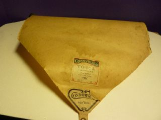 Vintage Piano Roll Connorized 4127 Italian Word Roll Tosca G.  Puccini photo