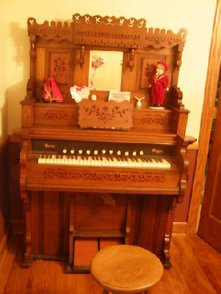 Antique Pump Organ photo