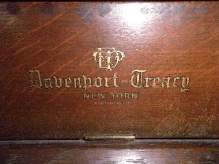 1928 Davenport - Treacy Upright Piano~solid Oak~serial 126840~beautiful Sound photo