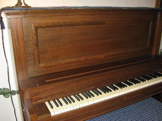 1921 Vose & Sons Upright Piano photo
