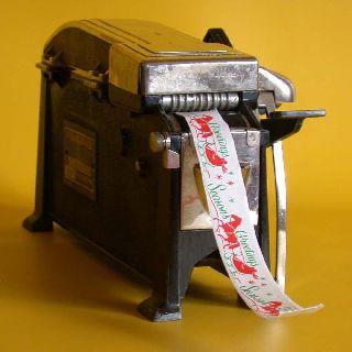 Vintage National Package Sealer July 12,  1921 Model 207 Made In Nashua,  Nh Usa photo