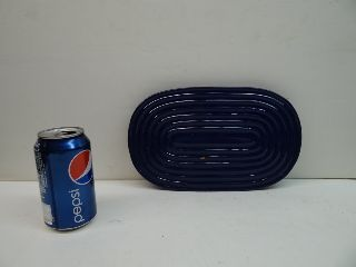 Vintage Chantal Italy Cobalt Blue Retro Trivet photo