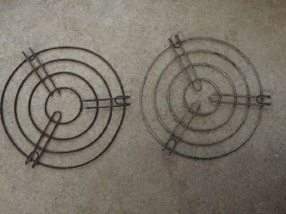 2 Antique Wire Trivets Wood Stove Rare Primitive 7