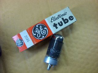 Vtg Ge Electron Vacuum 35a5 Ham Radio Tv Cb Amp Phono Tube Made In Usa ~nos~ photo