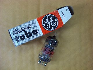 Vtg Ge Vacuum Electron Tube 5cl8a Ham Radio Tv Cb Amp Phono Made In Usa ~nos~ photo