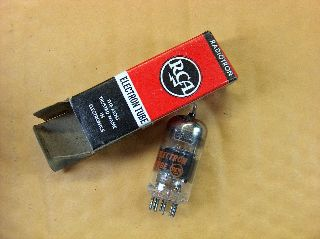 Vtg Rca Electron Vacuum 5gh8a Ham Radio Tv Cb Amp Phono Tube Made In Usa ~nos~ photo