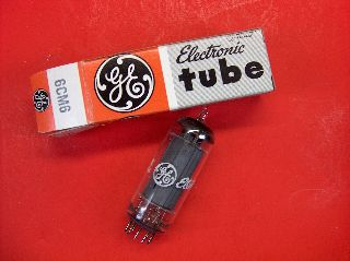 Vtg Ge Electron Vacuum 6cm6 Ham Radio Tv Cb Amp Phono Tube Made In Usa ~nos~ (b) photo