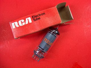 Vtg Rca Electron Vacuum 6197 Ham Radio Tv Cb Amp Phono Tube Made In Usa ~nos~ photo