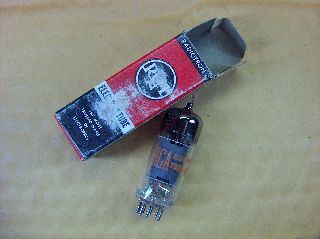 Vtg Rca Electron Vacuum 6by8 Ham Radio Tv Cb Amp Phono Tube Usa Made ~nos~ (b) photo