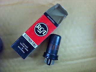 Vtg Rca Electron Vacuum 6ac7 Ham Radio Tv Cb Amp Phono Tube Made In Usa ~nos~ photo
