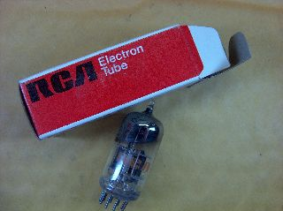 Vtg Rca Electron Vacuum 6cg8a Ham Radio Tv Cb Amp Phono Tube Usa Made ~nos~ (b) photo