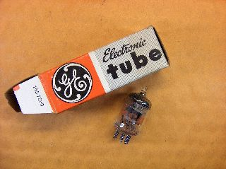 Vtg Ge Vacuum Electron Tube 6hm5/6ha5 Ham Radio Tv Cb Amp Phono Canada Made ~nos photo