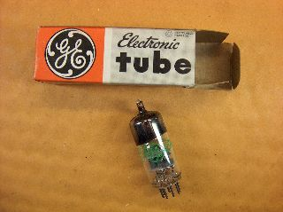 Vtg Ge Vacuum Electron Tube 6hm5/6ha5 Ham Radio Tv Cb Amp Phono Gt.  Britain ~nos photo