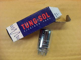 Vtg Tung - Sol Electron Vacuum 6ax3 Ham Radio Tv Cb Amp Phono Tube Usa Made ~nos~ photo