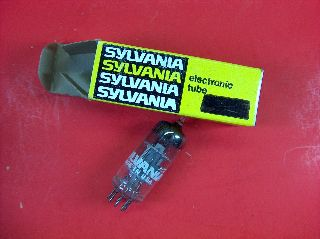 Vtg Sylvania Electron Vacuum 6ew6 Ham Radio Tv Cb Amp Phono Tube Made In Usa Nos photo
