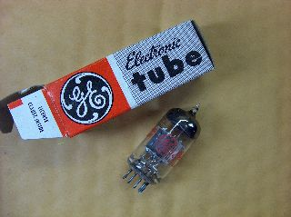 Vtg Ge Vacuum Electron Tube 12br7 Ham Radio Tv Cb Amp Phono Made In Usa ~nos~ photo