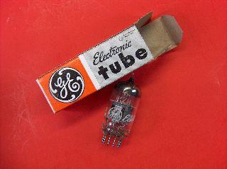 Vtg Ge Electron Vacuum 6kz8 Ham Radio Tv Cb Amp Phono Tube Made In Usa ~nos~ photo
