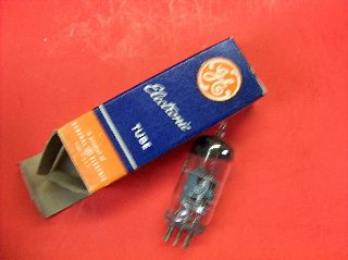 Vtg Ge Electron Vacuum 6ag5 Ham Radio Tv Cb Amp Phono Tube Made In Usa ~nos~ photo