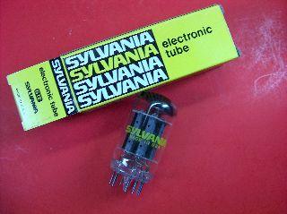 Vtg Sylvania Electron Vacuum 23z9 Ham Radio Tv Cb Amp Phono Tube Made In Usa Nos photo
