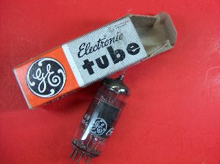 Vtg Ge Electron Vacuum 6ka8 Ham Radio Tv Cb Amp Phono Tube Made In Usa ~nos~ photo