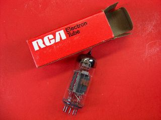 Vtg Rca Electron Vacuum 11lq8 Ham Radio Tv Cb Amp Phono Tube Made In Usa ~nos~ photo