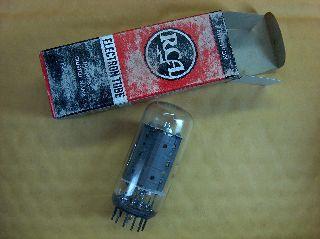 Vtg Rca Electron Vacuum 6gf5 Ham Radio Tv Cb Amp Phono Tube Made In Usa ~nos~ photo