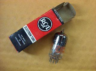 Vtg Rca Electron Vacuum 6lj8 Ham Radio Tv Cb Amp Phono Tube Made In Usa ~nos~ photo