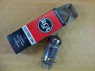 Vtg Rca Electron Vacuum 6eh8 Ham Radio Tv Cb Amp Phono Tube Made In Usa ~nos~ photo