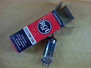Vtg Rca Electron Vacuum 12ba6 Ham Radio Tv Cb Amp Phono Tube Made In Usa ~nos~ photo