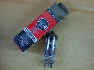Vtg Rca Electron Vacuum 11je8 Ham Radio Tv Cb Amp Phono Tube Made In Usa Nos photo