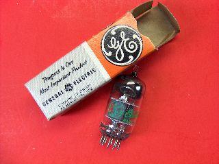 Vtg Ge Electron Vacuum 6kz8 Ham Radio Tv Cb Amp Phono Tube Made In Usa ~nos~ (b) photo