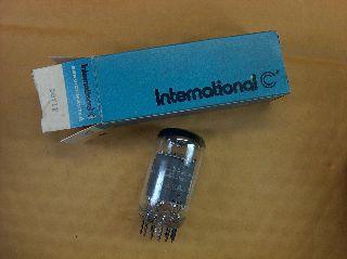 Vtg International C Vacuum Electron 6by11 Ham Radio Cb Amp Phono Tube Usa ~nos~ photo