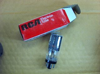 Vtg Rca Electron Vacuum 6ax4gtb Ham Radio Tv Cb Amp Phono Tube Usa Made Nos (b) photo